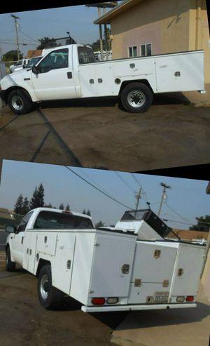 💥2004 Ford F350 Super Duty Regular Cab Utility Work Truck F-350 F 350 3500 for Sale in Riverbank, CA