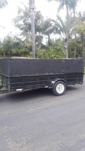 Utility landscape trailer for Sale in San Marcos, CA