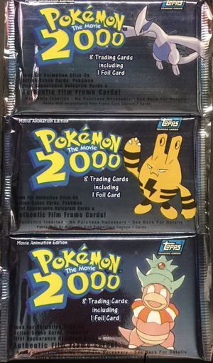 Pokemon cards the movie 2000 packs all 3 arts lugia Elekid slow king for Sale in Westminster, CO