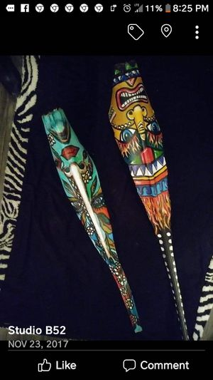 Custom Painted Tiki Masks & Signs for Sale in Port Neches, TX