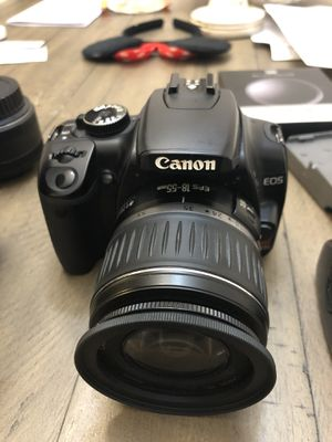 Canon EOS Rebel with accessories for Sale in Jamestown, NC