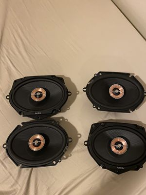 "Infinity Kappa 86cfx 6"" x 8"" 2-Way Car Radio Speakers Kickers Car Stereo Door Speaker for Sale in Los Angeles, CA"