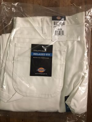 DICKIES Utility / Carpenter White Jeans Men Size 42x32 for Sale in Alameda, CA