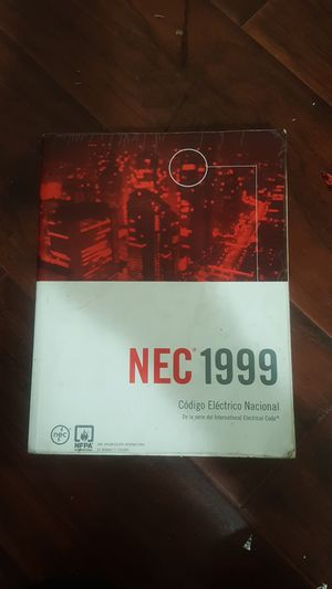 NEC 1999 BOOK for Sale in Los Angeles, CA