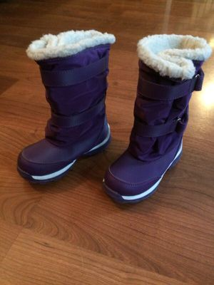 Kids Snow Boots Lands End size 9 for Sale in Perkasie, PA