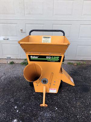 Baker Tornado 612-5.0 HP Chipper Shredder for Sale in Colchester, CT