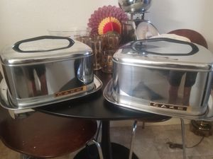 MID CENTURY SQUARE LOCKING CAKE CARRIER for Sale in San Diego, CA