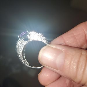 Amythest Deco Angel Ring Sz 7 for Sale in Vancouver, WA