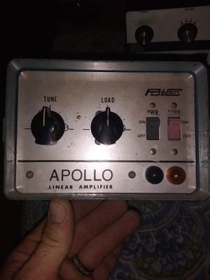 Apollo cb amplifier 2 tube (read description,) for