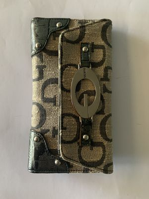 Guess wallet leather on the inside. for Sale in Hemet, CA