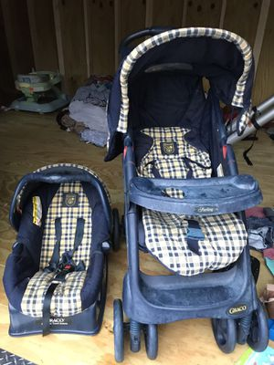 Greco Stroller/ Car Seat Combo Great Condition $65 OBO for Sale in Guyton, GA