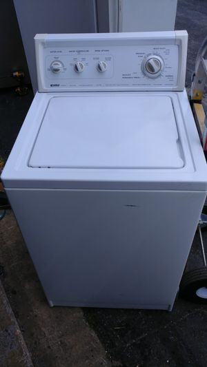Kenmore apartment side washer 24 inches good condition for Sale in Temple Hills, MD