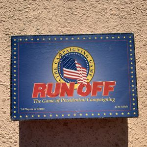 Run Off The Game Of Presidential Campaigning Board Game New Sealed for Sale in Orlando, FL