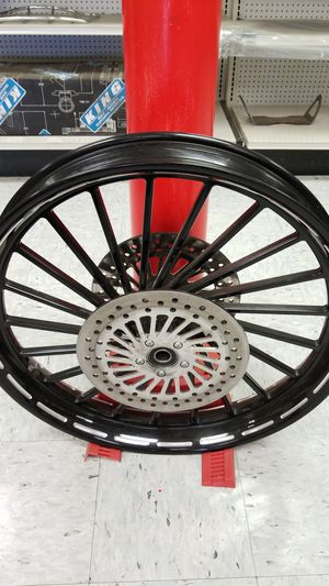 """26"""" sinister Harley front wheel for Sale in Acampo, CA"""