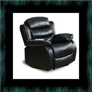Black recliner chair for Sale in Crofton, MD