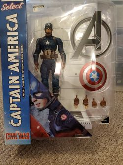 Marvel Select Captain America figure for Sale in West Palm Beach,  FL