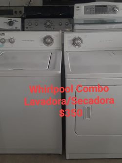 Combo lavadora Y Secadora Whirlpool for Sale in Miami,  FL