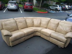 Sectional couch 3 piece with 2 recliners for Sale in Federal Dam, MN