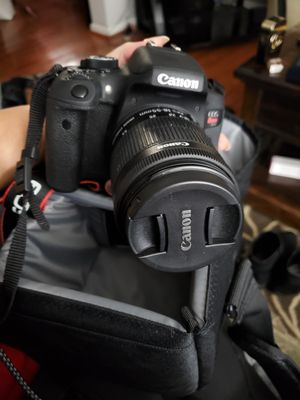Canon T6i DSLR w/18-55mm lens for Sale in Quakertown, PA
