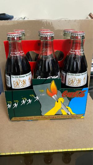 Vintage Coca-Cola Olympic Bottles for Sale in Dearborn, MI