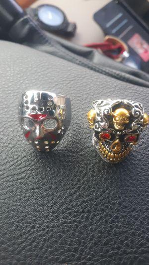 Steel rings for Sale in Manteca, CA
