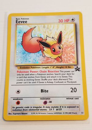 POKEMON CARD- PROMO EEVEE for Sale in Burbank, CA