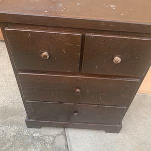 Solid Wood Little Dresser for Sale in Whittier, CA