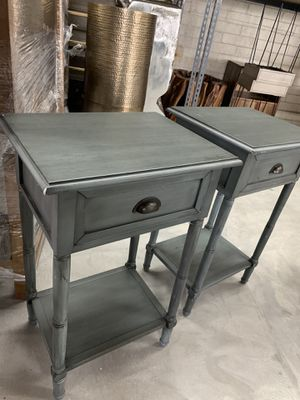 Pair of nightstands; side tables for Sale in San Diego, CA