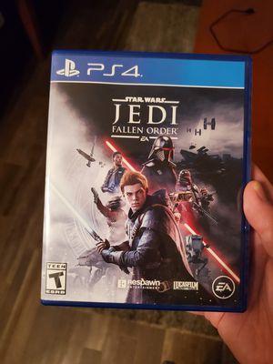 Starwars Jedi Fallen order PS4 for Sale in Phoenix, AZ