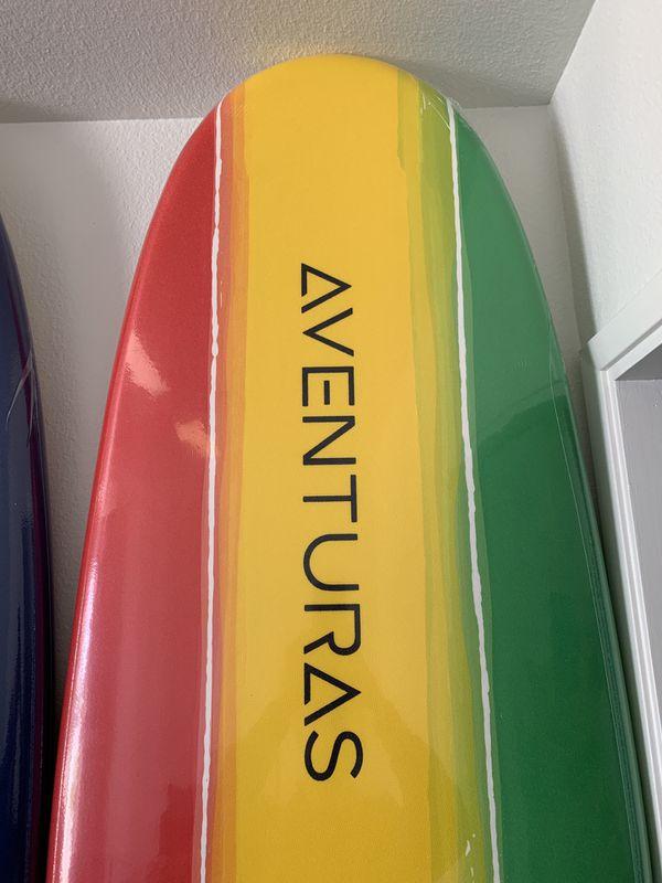 8' Aventuras Foam Soft Top Surfboards
