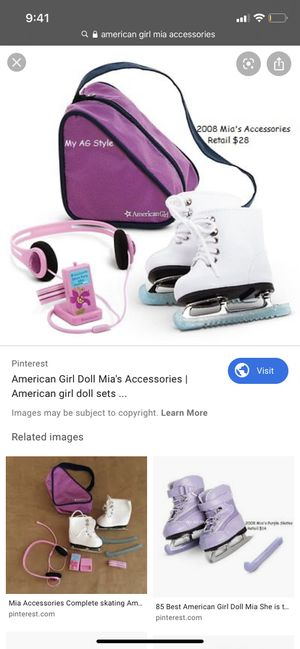 American girl doll mias accessories for Sale in San Leandro, CA
