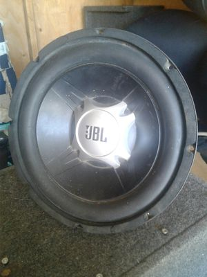JBL 10-inch subwoofer for Sale in Bakersfield, CA