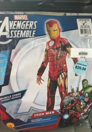 Avengers new costume Child costume large for Sale in West Mifflin, PA