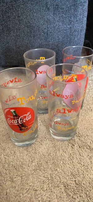 Vintage Coca Cola Collectible Glasses for Sale in Scottsdale, AZ