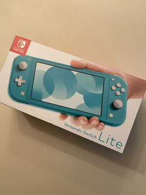 Nintendo switch lite turquoise for Sale in Commerce Charter Township, MI