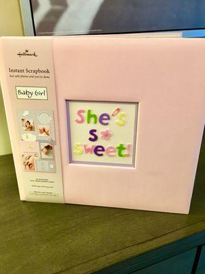 Hallmark Scrapbook Photo Album ( baby Girl) for Sale in Winder, GA