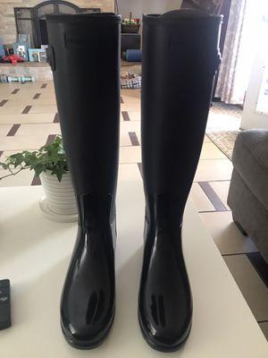 Women's Black Hunter Rain Boots for Sale in Las Vegas, NV