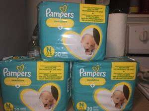 BRAND NEW newborn PAMPERS for Sale in Las Vegas, NV
