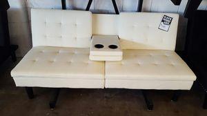 Vanilla Futon for Sale in Dallas, TX