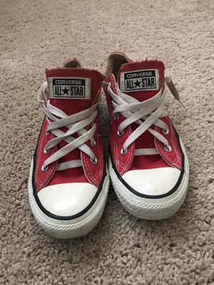 Converse All Stars- Red Size 4 Men's/ 6 Women's for Sale in Rockville, MD