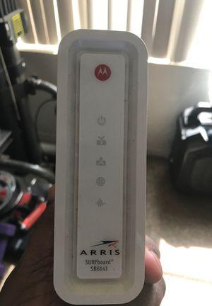 Motorola Arris modem for Sale in Peoria, AZ