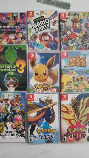 Nintendo Switch games for Sale in Woodbridge, VA