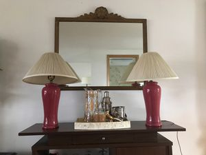 Set of two lamps for Sale in Cranston, RI