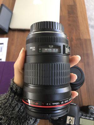Canon 135L 2.0 for Sale in Pompano Beach, FL