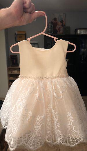 Ivory 12 month flower girl dress for Sale in Phoenix, AZ