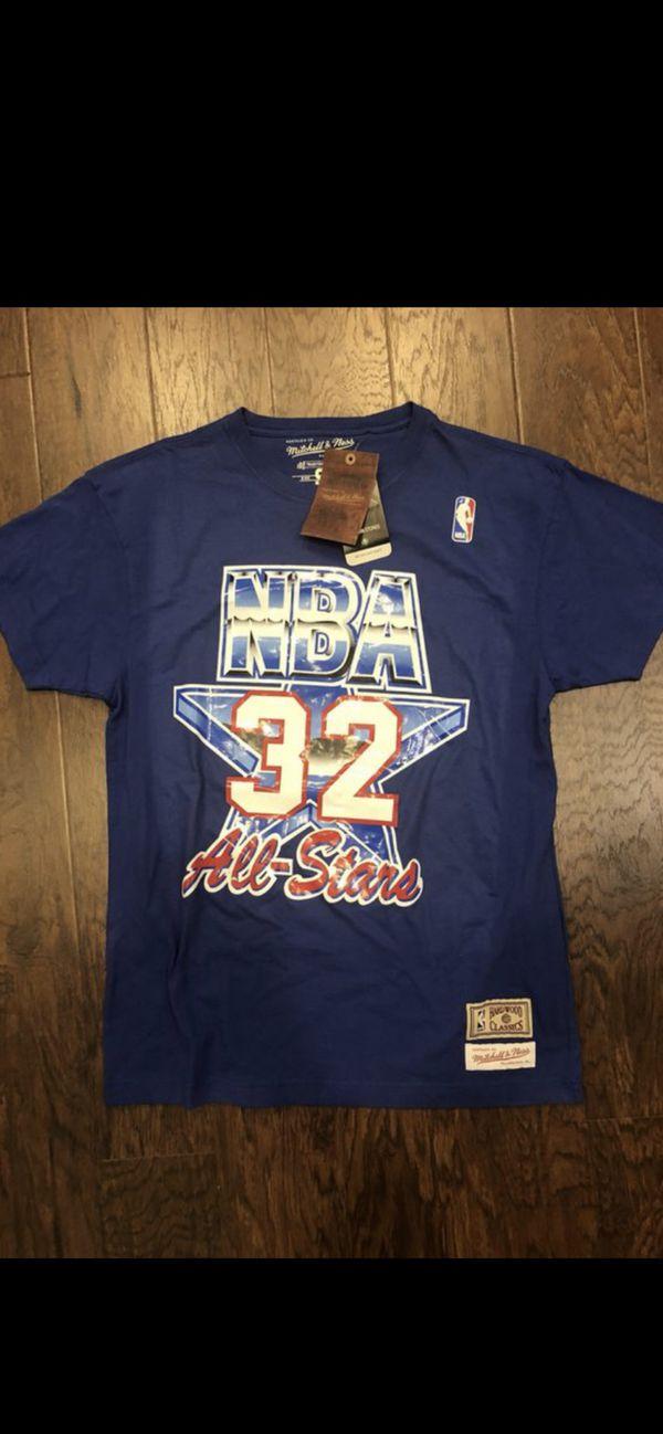 Magic Johnson 1992 NBA All-Star Game Mitchell & Ness Shirt - BNWT