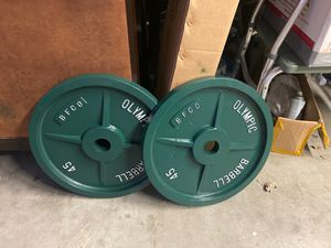 olympic weights for Sale in Bay Point, CA