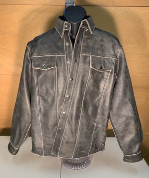 Mens Jamin Leather jacket (size M) for Sale in Emmaus, PA