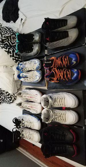 Jordan's, LeBron, foamposites. for Sale in Denver, CO