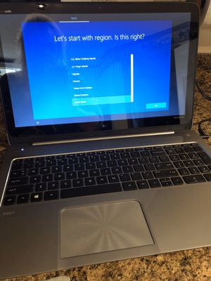 HP Envy TouchSmart Touch-Screen Laptop with Beats Audio for Sale in Lebanon, PA